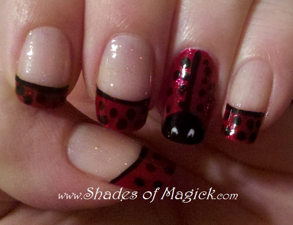 this is my favorite design that i ve ever done granted i haven t done . nail  designs - Ladybug Toe Nail Designs Nail Designs, Hair Styles, Tattoos And