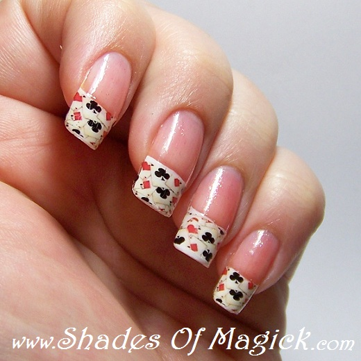 Nail Art Casino Style Shades Of Magick